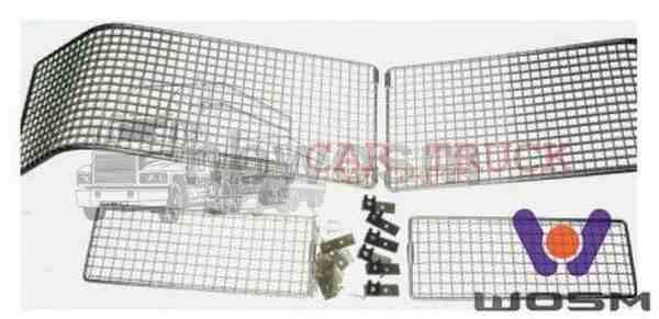 mřížka ochranná světlometu+halogenu MAN F2000