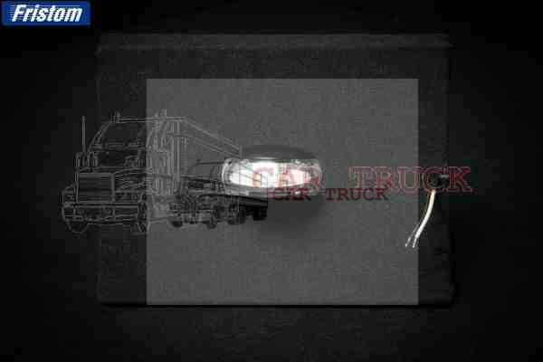 světlo poziční LED bílé.