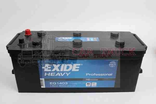 autobaterie EXIDE PROFESSIONAL 140Ah