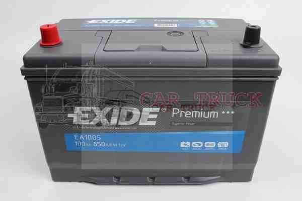 autobaterie EXIDE PREMIUM 100Ah +L
