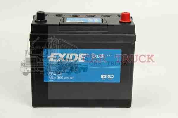autobaterie EXIDE EXCELL 45Ah
