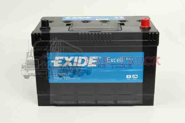 autobaterie EXIDE EXCELL 100Ah
