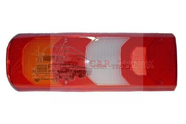 sklo zadní lampy MB ACTROS MP 4 levé pravé
