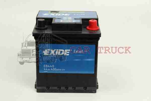 autobaterie EXIDE EXCELL 44Ah