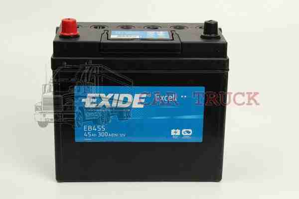 autobaterie EXIDE EXCELL 45Ah.