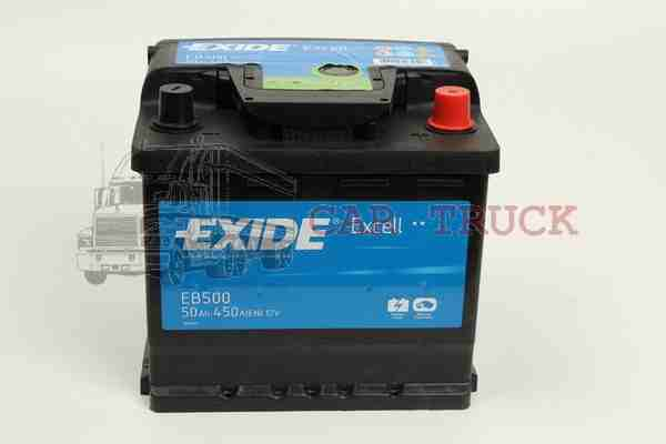 autobaterie EXIDE EXCELL 50Ah