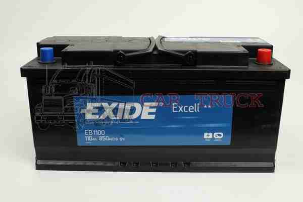 autobaterie EXIDE EXCELL 110Ah