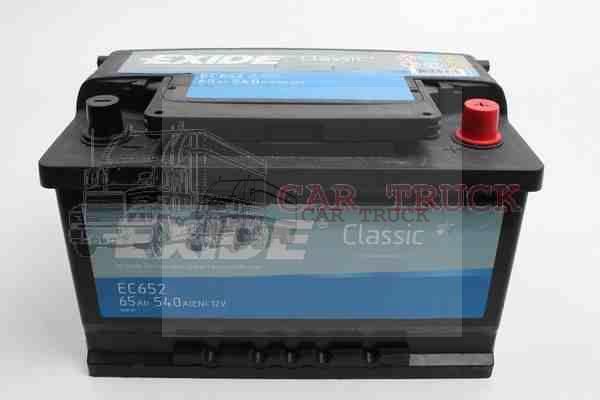 autobaterie EXIDE CLASIC 70Ah
