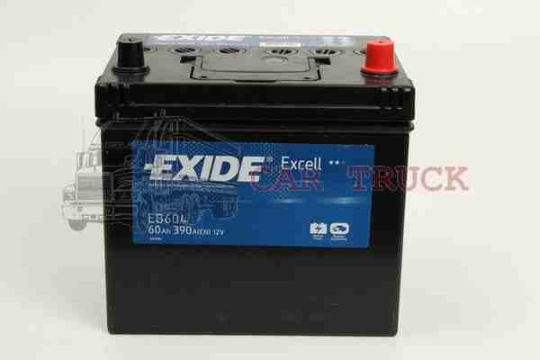 autobaterie EXIDE EXCELL 60Ah US