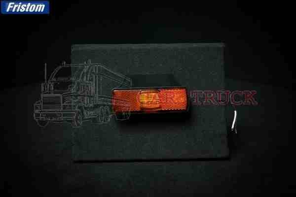 světlo poziční LED s držákem oranžové