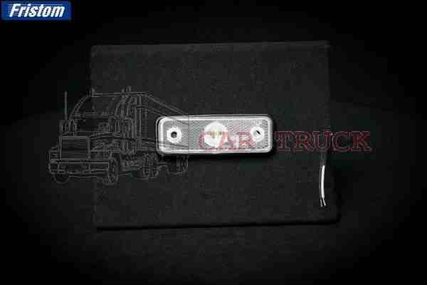 světlo poziční LED bílé