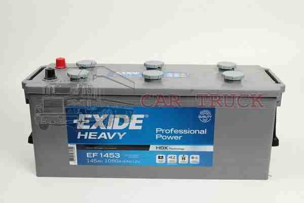 autobaterie EXIDE PROFESSIONAL POWER 140Ah