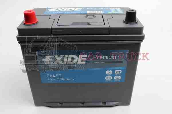 autobaterie EXIDE PREMIUM 45Ah +L