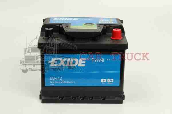 autobaterie EXIDE EXCELL 44Ah.