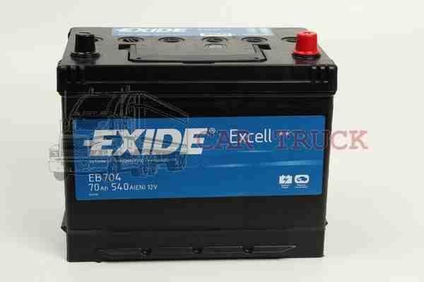 autobaterie EXIDE EXCELL 70Ah