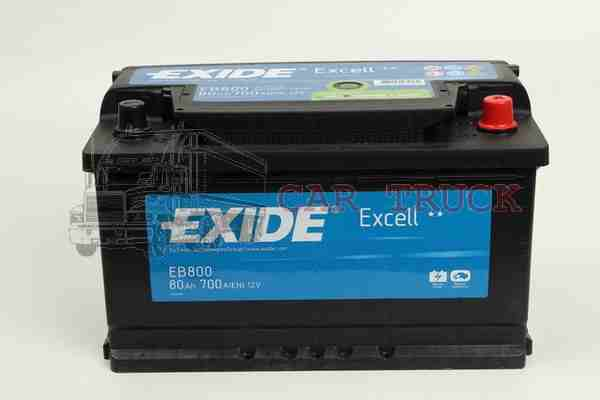 autobaterie EXIDE EXCELL 80Ah