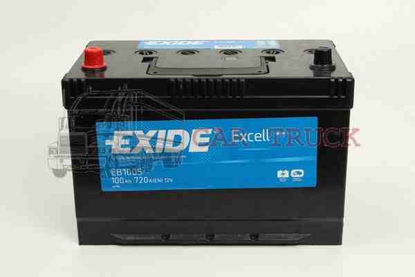 autobaterie EXIDE EXCELL 100Ah.