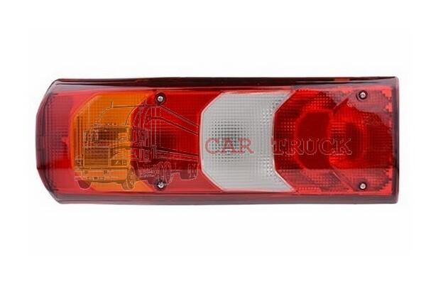 zadní lampa MB ACTROS MP 4 levá s osvětlením SPZ
