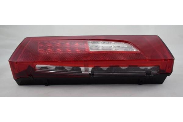 zadní lampa SCANIA R LED levá s osvětlením SPZ