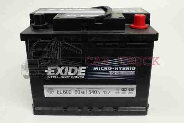 autobaterie EXIDE ECM 70Ah